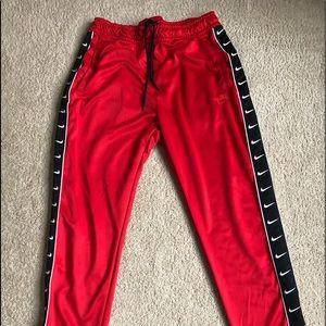Nike Men's Athletic Pants - Red